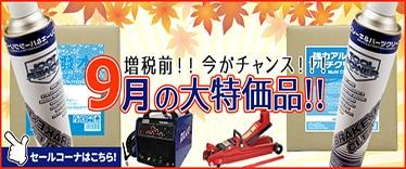 【9月】今月のセールコーナー