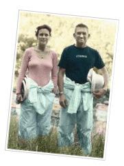 ニュージーランドのジェレミー夫婦