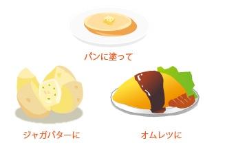 ハーブバター料理