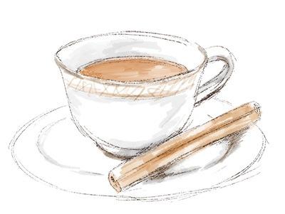 シナモンと紅茶