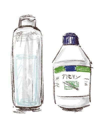 化粧水として