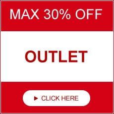 MAX 30% OFF. OUTLET