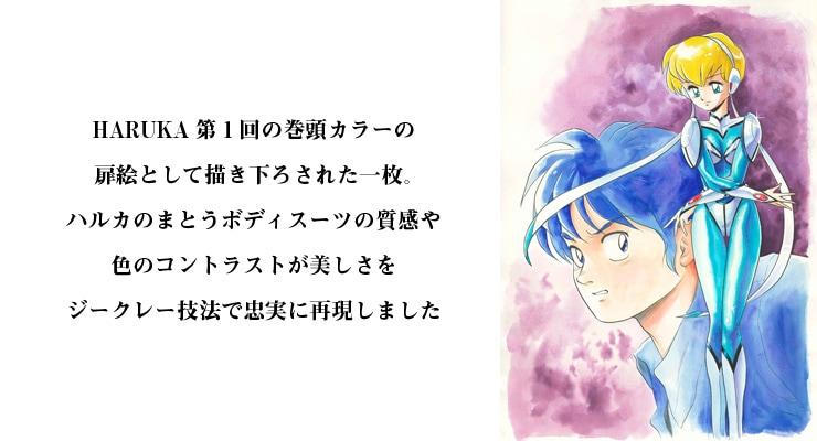 【数量限定】「HARUKA」/西川伸司 オリジナルカラー原画 高品質複製プリント商品【直筆サイン付き】