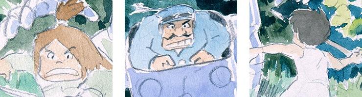 未来少年コナン F3キャラファインボード 『ロボノイド』