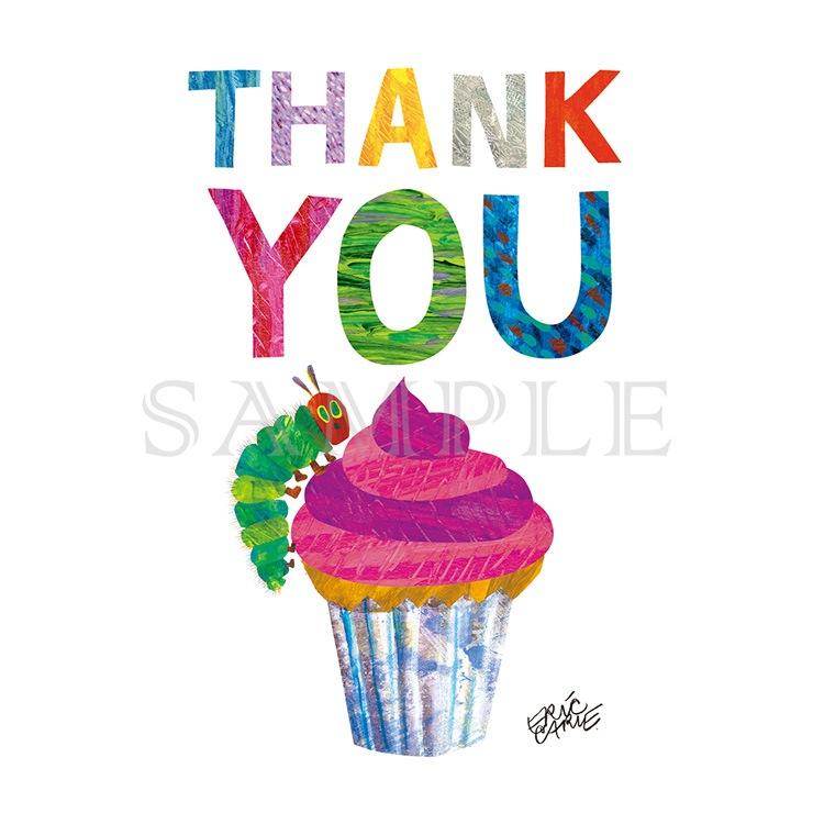 エリック・カール キャラファインミニ『Party cupcake pink カップケーキピンク』
