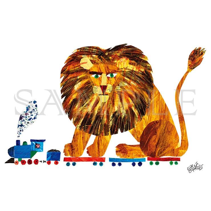 エリック・カール A5キャラファイン『123-Zoo lion ライオン』