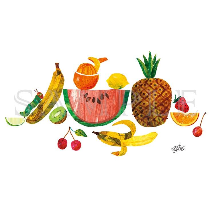 エリック・カール B5キャラファイン『Tropical fruits トロピカルフルーツ』