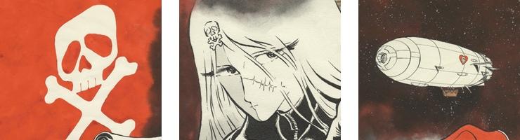 クイーン・エメラルダス 松本零士「真紅の女海賊」