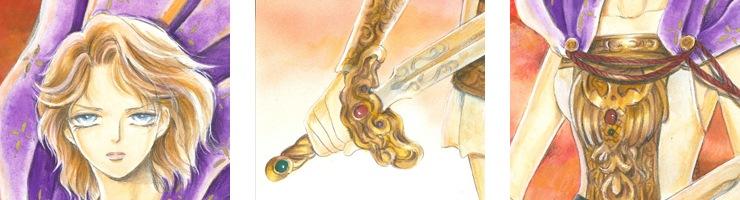 【数量限定】「銀のヴァルキュリアス」原画�