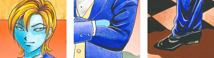 【数量限定】「猟奇伝説アルカード」 第6巻/稲垣みさお オリジナルカラー原画 高品質複製プリント商品