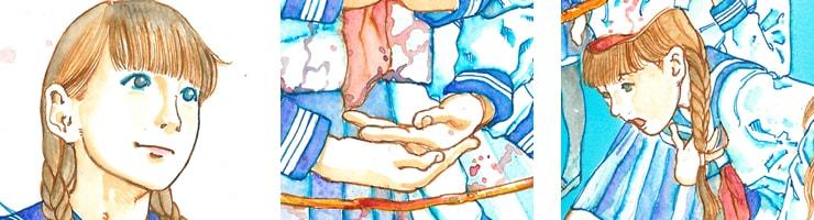 【数量限定】駕籠真太郎/浅草橋ギャラリー用描き下ろし原画2【直筆サイン付き】