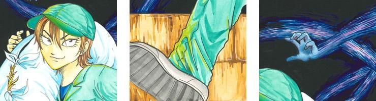 【数量限定】「死体処理請負人アマネ」 /稲垣みさお オリジナルカラー原画 高品質複製プリント商品�【直筆サイン付き】