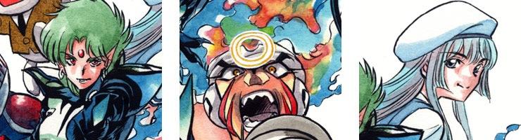 【数量限定】「ジエンド 炎人 〜THE LAST HERO COMES ALIVE〜」3巻裏表紙イラスト /村枝賢一 高品質複製プリント商品【直筆サイン付き】