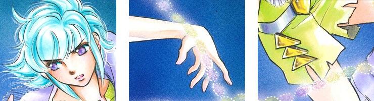 【数量限定】「DIMENSION GREEN」2巻表紙 佐々木淳子オリジナルカラー原画高品質複製プリント商品【直筆サイン付き】