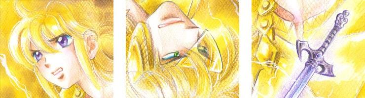 【数量限定】「DIMENSION GREEN」16巻表紙 佐々木淳子オリジナルカラー原画高品質複製プリント商品【直筆サイン付き】