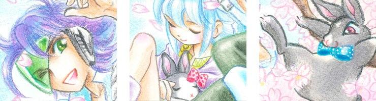 【数量限定】公式サイト用イラスト「桜〜春〜」 佐々木淳子オリジナルカラー原画高品質複製プリント商品【直筆サイン付き】