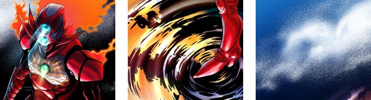 【数量限定】ジエンド 炎人 〜THE LAST HERO COMES ALIVE〜 FILE13 /村枝賢一 複製原画【直筆サイン付き】