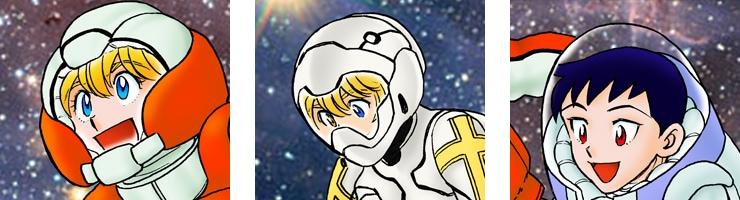 【数量限定】「火星のココロ Hero comes to Mars」#12扉絵 /馬場民雄 複製原画【直筆サイン付き】