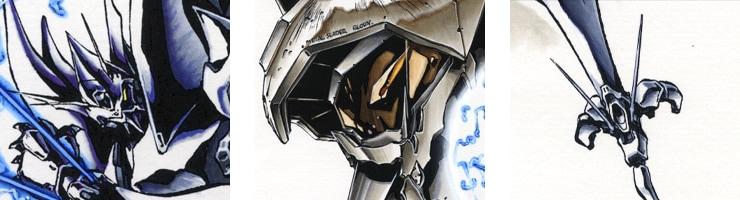 【数量限定】「メタルスレイダーグローリー」コミックス裏表紙イラスト /☆よしみる 複製原画【直筆サイン付き】