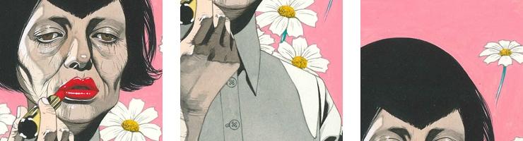 【数量限定】雑誌掲載イラスト「乙女座」/寺田亨 高品質複製プリント商品【直筆サイン付き】