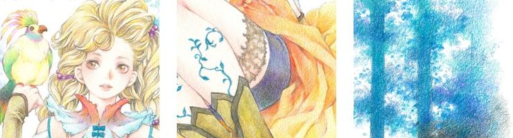【限定1枚】「楽園をつくろう」 /内田美奈子 原画イラストボード