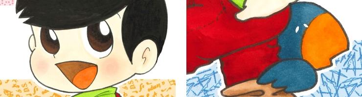 【数量限定】「フーちゃん」文庫版表紙/いまいかおる 複製原画【直筆サイン付き】