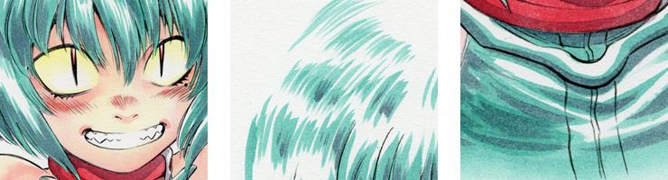 【数量限定】「ニードルアイ」13話挿絵B/村枝賢一 複製原画【直筆サイン付き】