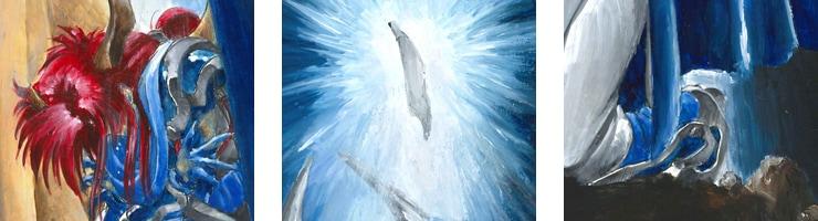 【数量限定】「Ga-Ryu」青き翼/木村明広 複製原画【直筆サイン付き】