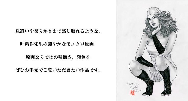 【限定1枚】叶精作 「紅娘の海」�