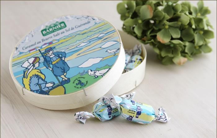 フランス産 塩バターキャラメル ル・ブルターニュ 丸箱入り