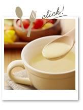 豆乳のコーンスープ