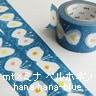 マスキングテープ mt×ミナ ペルホネン MTMINA20 hana hana-blue