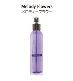 ナチュラルシリーズのホームスプレー。メロディ-フラワーの香り