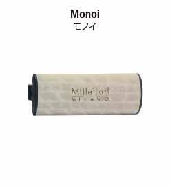カーエアフレッシュナーWOOD(ウッド)シリーズ、モノイの香り