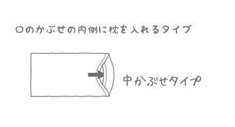 竹の天竺ピローケース