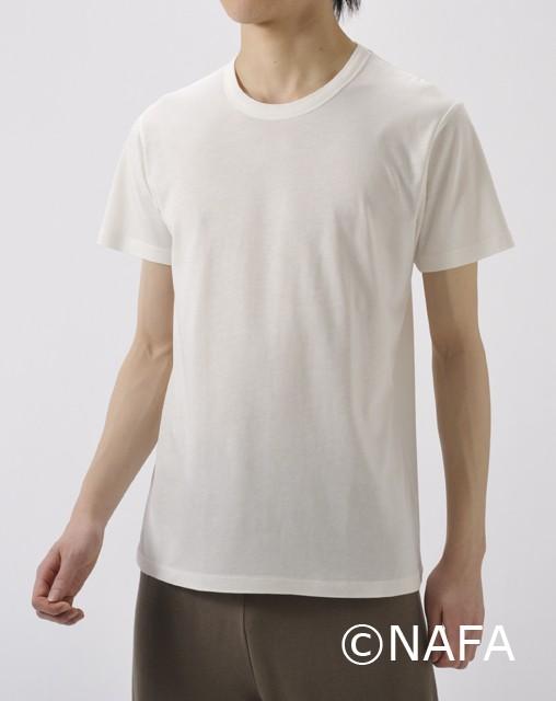 竹の半袖Tシャツ レディース ラベンダー