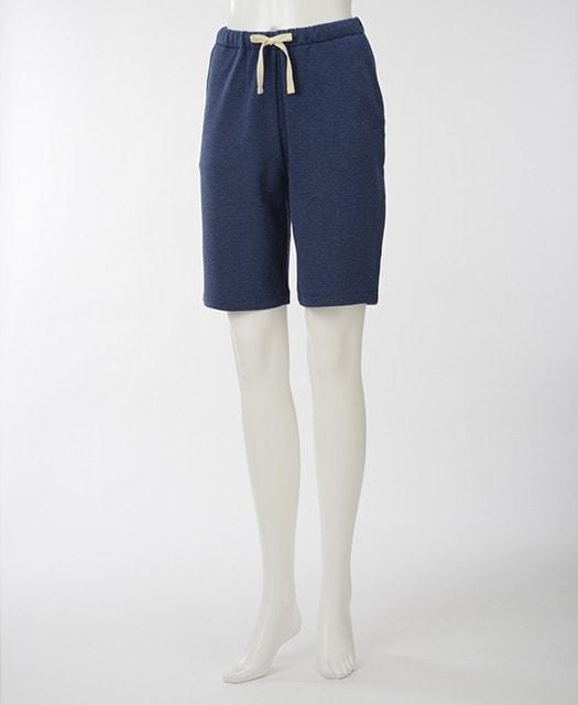 竹のショートパンツ ネイビー 女性用