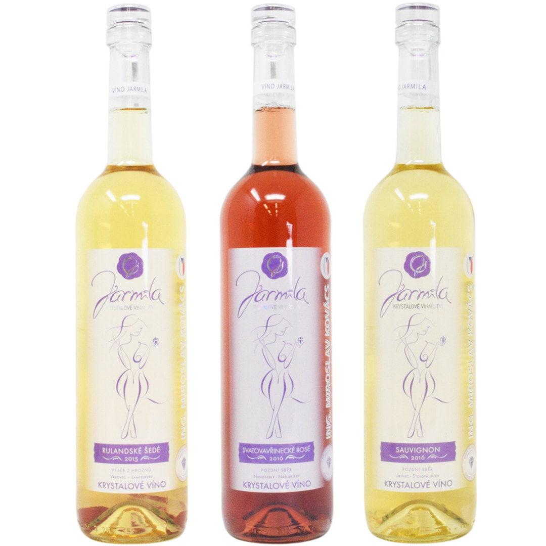 クリスタルワイン 3本セット