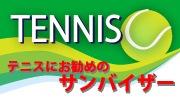テニスをする方のために