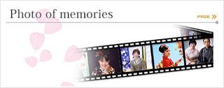 着物で綴るフォトメモリーズ Kimono Photo of memories