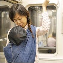電車用メッシュカバー