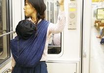 電車で移動する時