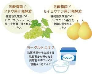 3種の発酵エキス