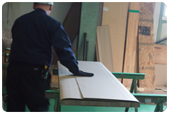 集成材工場工程8梱包