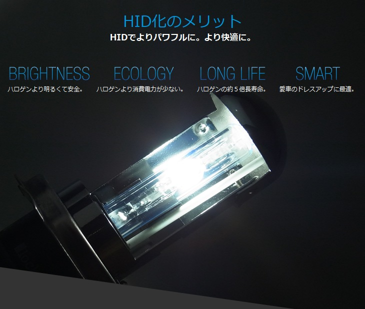 HID化のメリット