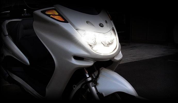 fcl. (エフシーエル) LEDヘッドライトは、ここが違う