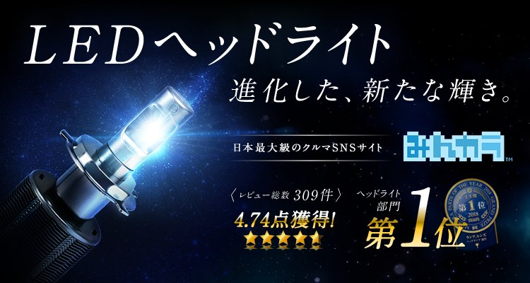 新LEDヘッドライト先行予約販売キャンペーン