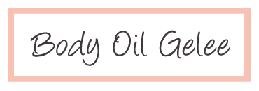 body Oil Gelee