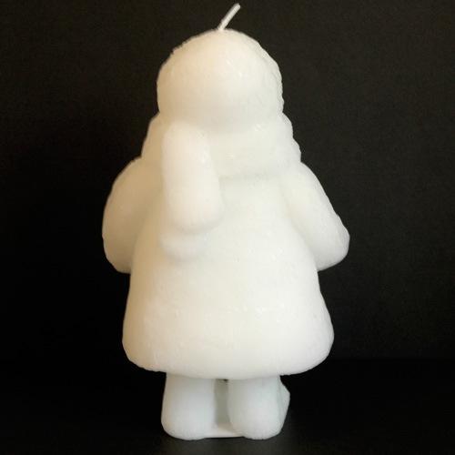 Snow Doll closedeyesの後ろ,キャンドル,リトルスノードール,&K