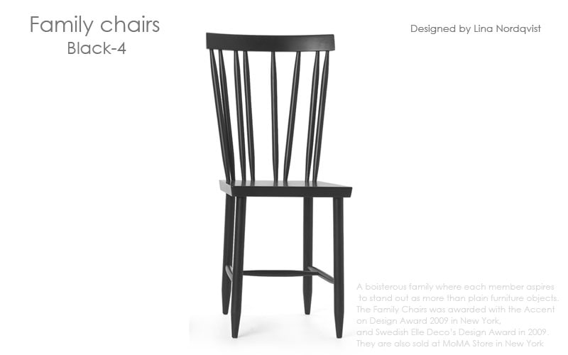 DESIGN HOUSE stockholm(デザインハウス・ストックホルム)Family Chairs(ファミリーチェアーズ),北欧スウェーデン,北欧雑貨,北欧インテリア,北欧ギフト